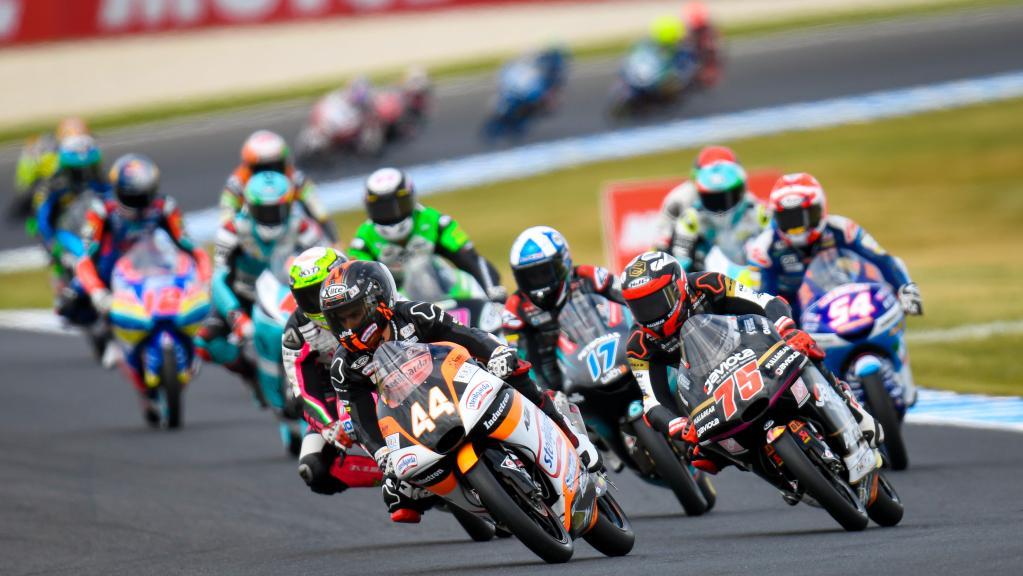 tc moto3 race
