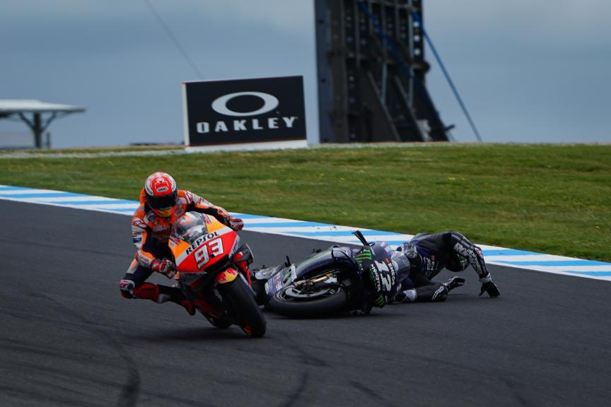 Marc Marquez, Maverick Viñales, Pramac Generac Australian Motorcycle Grand Prix © Alejandro Ceresuela