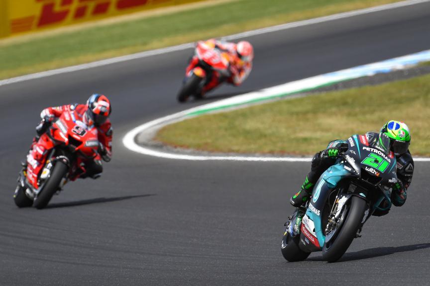 Franco Morbidelli, Petronas Yamaha SRT, Pramac Generac Australian Motorcycle Grand Prix