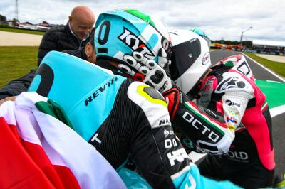 #FullFlama48: Dalla Porta is the 2019 Moto3™ World Champion