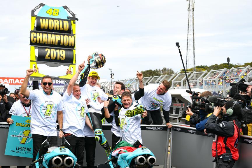 Lorenzo Dalla Porta, Leopard Racing, Pramac Generac Australian Motorcycle Grand Prix