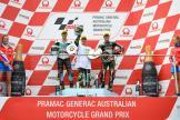 Lorenzo Dalla Porta, Marcos Ramirez, Albert Arenas, Pramac Generac Australian Motorcycle Grand Prix