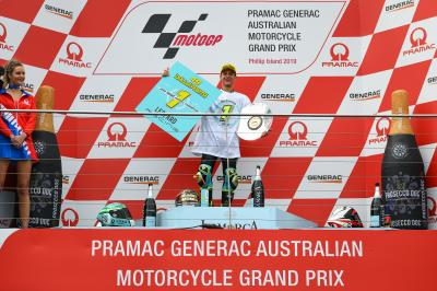 Dalla Porta claims Moto3™ crown after Phillip Island win
