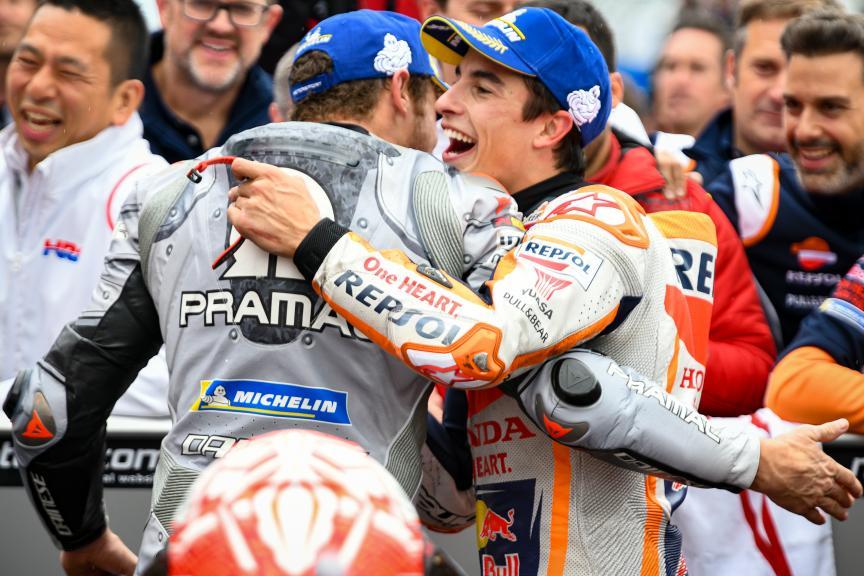 Marc Marquez, Jack Miller, Pramac Generac Australian Motorcycle Grand Prix