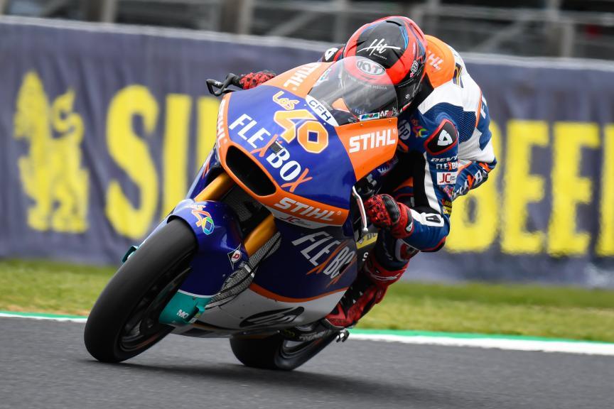 Augusto Fernandez, Flex-Box HP40, Pramac Generac Australian Motorcycle Grand Prix