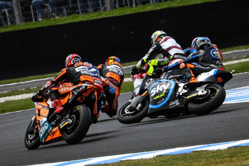 Luca Marini, Marco Bezzecchi, Fabio Di Giannantonio, Pramac Generac Australian Motorcycle Grand Prix