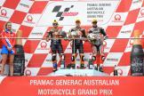 Jorge Martin, Brad Binder, Tom Luthi, Pramac Generac Australian Motorcycle Grand Prix