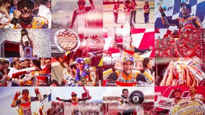 Les 55 victoires de Márquez en images