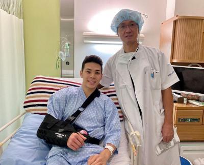 無事に手術成功しました!退院もして、これから日々のリハビリ頑張ります