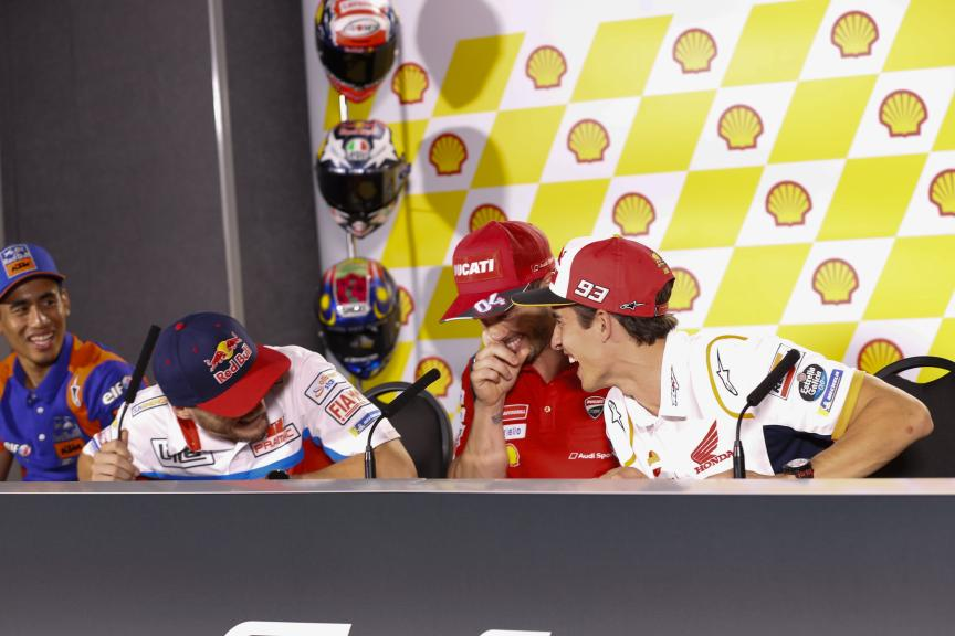 Jack Miller, Andrea Dovizioso, Marc Marquez, Shell Malaysia Motorcycle Grand Prix