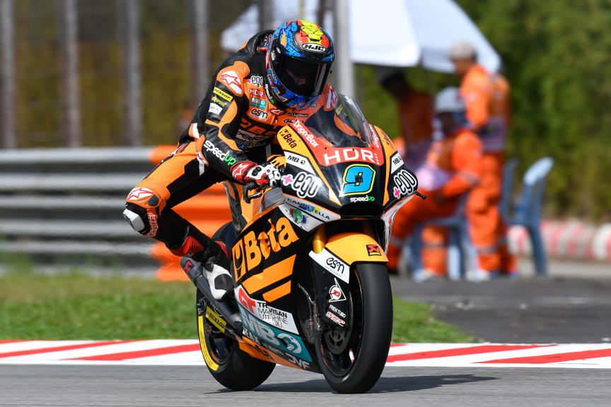 Jorge Navarro, Beta Tools Speed Up, Shell Malaysia Motorcycle Grand Prix