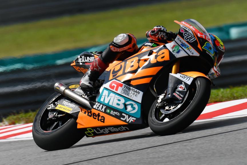 Jorge Navarro, Beta Tools Speed Up, Shell Malaysia Motorcycle Grand Prix