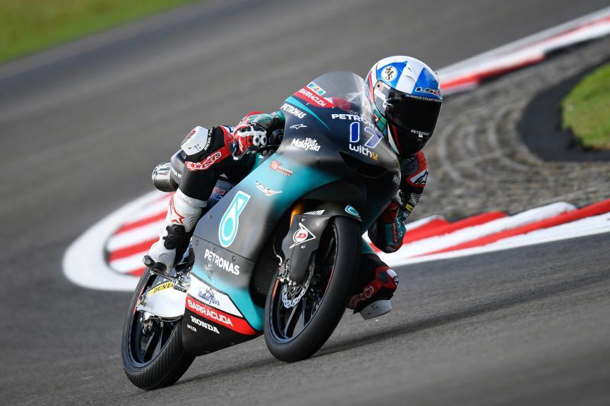 John McPhee, Petronas Sprinta Racing, Shell Malaysia Motorcycle Grand Prix