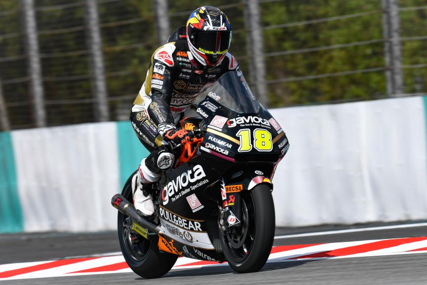 Xavier Cardelus, Gaviota Angel Nieto Team, Shell Malaysia Motorcycle Grand Prix