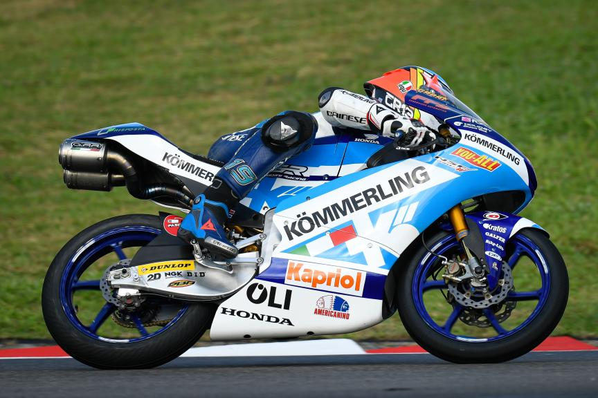Gabriel Rodrigo, Kőmmerling Gresini Moto3, Shell Malaysia Motorcycle Grand Prix