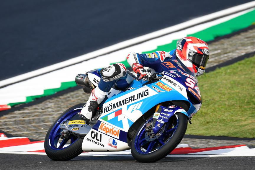 Riccardo Rossi, Kőmmerling Gresini Moto3, Shell Malaysia Motorcycle Grand Prix