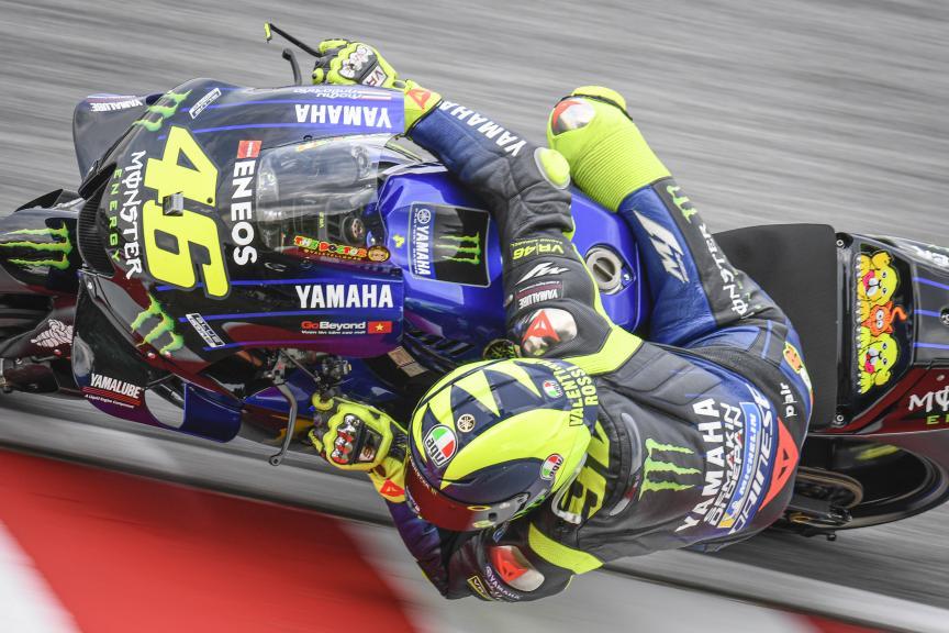 Valentino Rossi, Monster Energy Yamaha MotoGP, Shell Malaysia Motorcycle Grand Prix