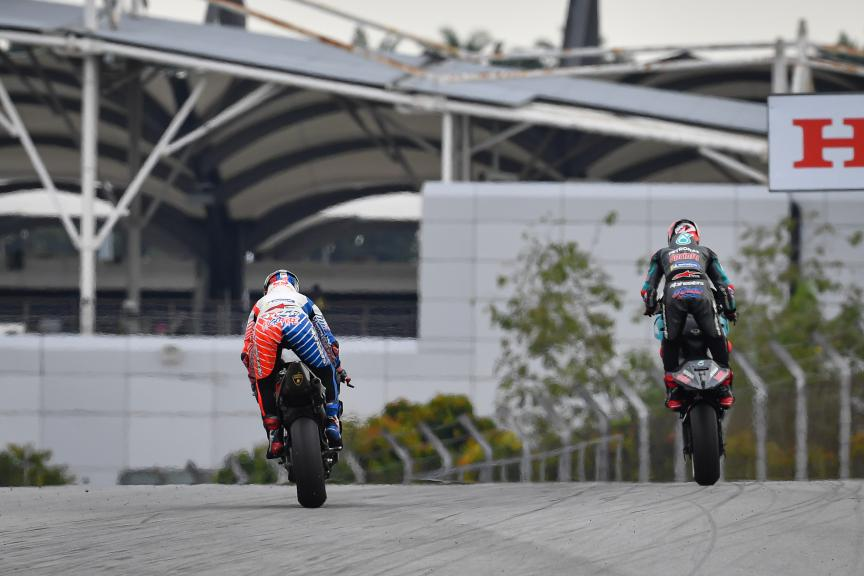 Fabio Quartararo, Francesco Bagnaia, Shell Malaysia Motorcycle Grand Prix