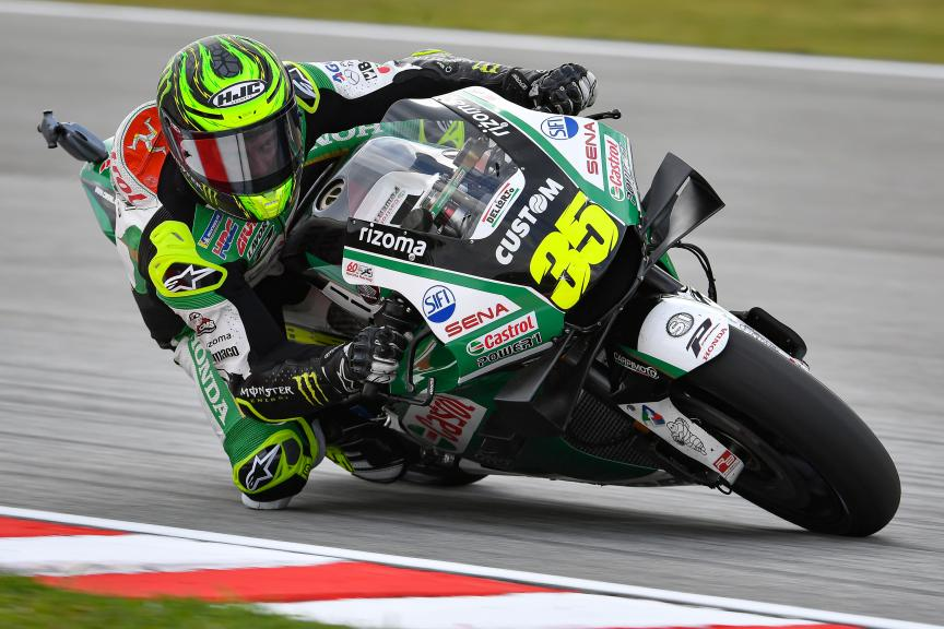 Cal Crutchlow, LCR Honda Castrol, Shell Malaysia Motorcycle Grand Prix