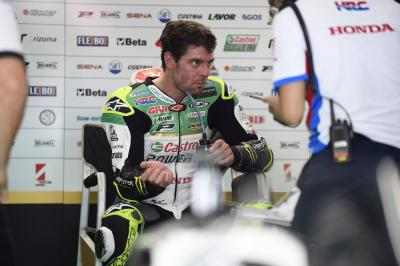 "Crutchlow expecting ""long hard race"" despite being top Honda"