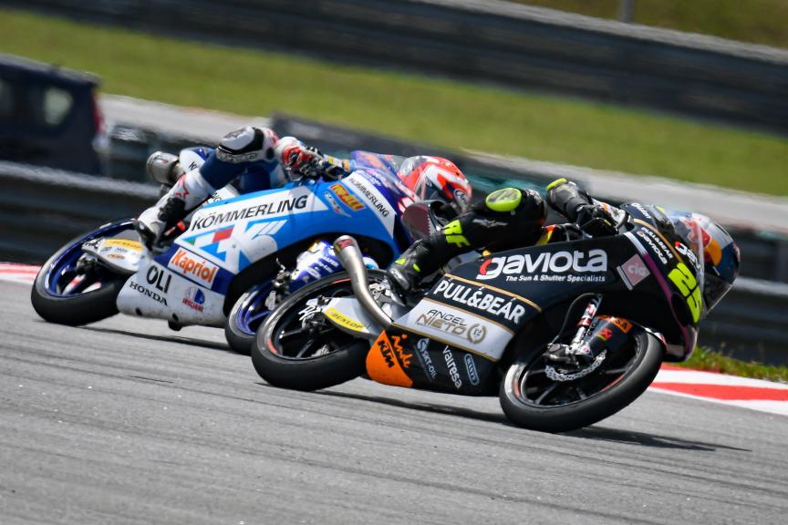 Raul Fernandez, Gaviota Angel Nieto Team, Shell Malaysia Motorcycle Grand Prix