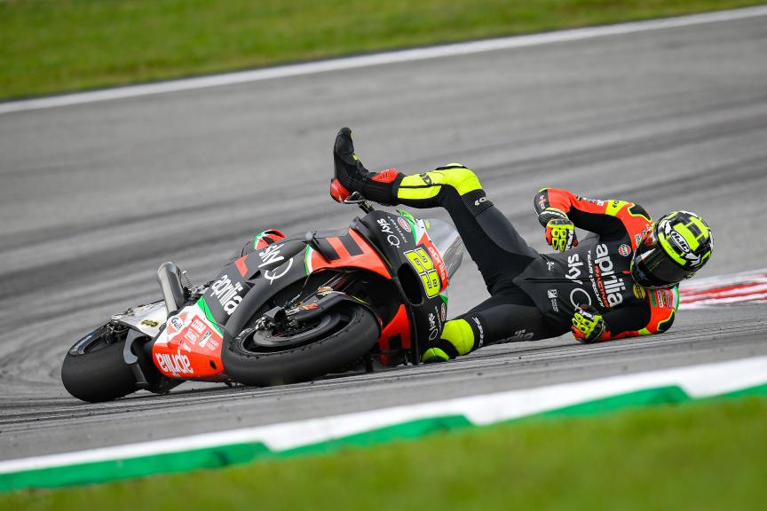 Andrea Iannone, Aprilia Racing Team Gresini, Shell Malaysia Motorcycle Grand Prix