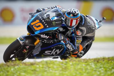 Marini fastest in Moto2™ Warm Up