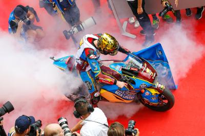 Here is your 2019 Moto2™ World Champion!