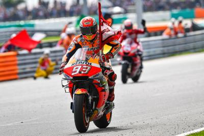 Marquez racks up premier class points record in Sepang