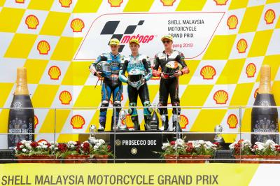 Moto3™ debrief: Dalla Porta dominates once more