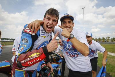 """Not 'the brother of', he's Alex Marquez, World Champion"""