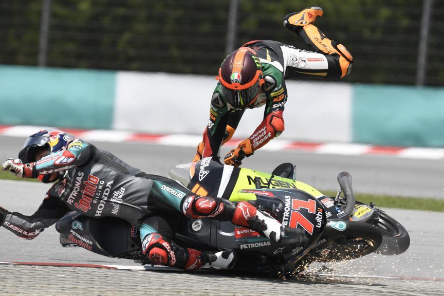 Ayumu Sasaki, Andrea Migno, Shell Malaysia Motorcycle Grand Prix