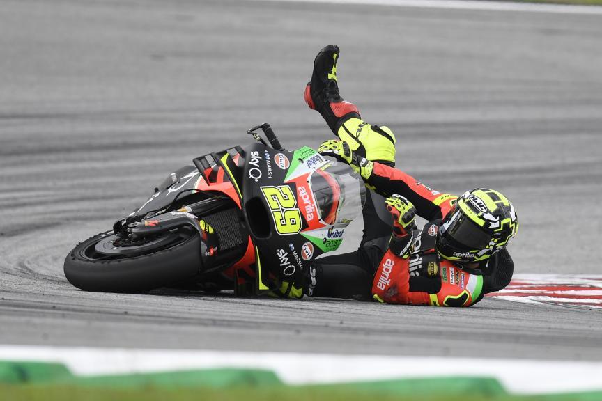 Andrea Iannone, Aprilia Racing Team Gresini, Shell Malaysia Motorcycle Grand Prix