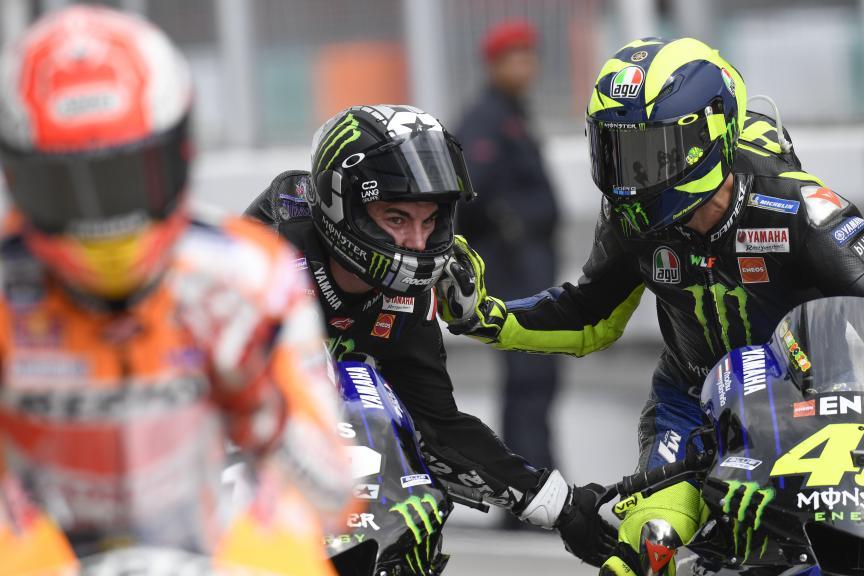 Maverick Viñales, Valentino Rossi, Monster Energy Yamaha MotoGP, Shell Malaysia Motorcycle Grand Prix