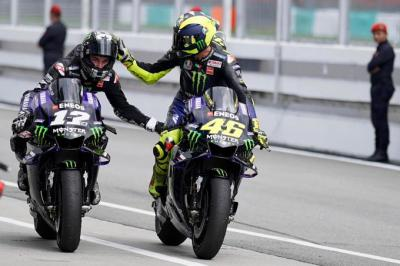 """Congratulations, @mvkoficial12!"" - @ValeYellow46"