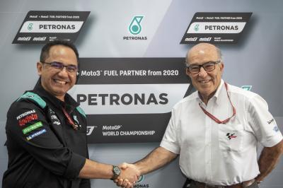 PETRONAS è il fornitore della Moto2™ e della Moto3™ dal 2020
