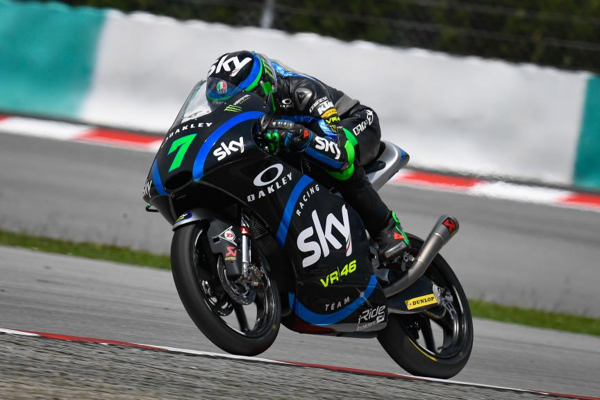 Dennis Foggia, Sky Racing Team VR46, Shell Malaysia Motorcycle Grand Prix