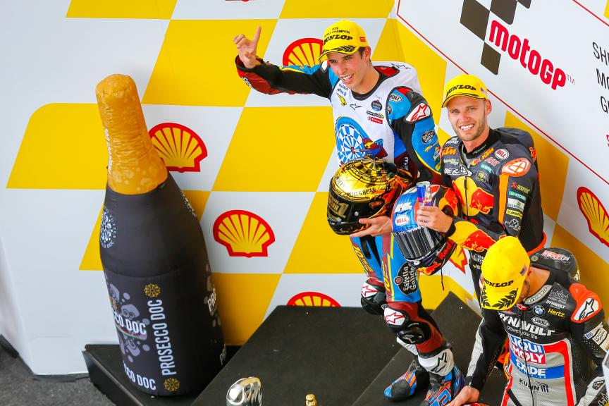Alex Marquez, Brad Binder, Tom Luthi, Shell Malaysia Motorcycle Grand Prix