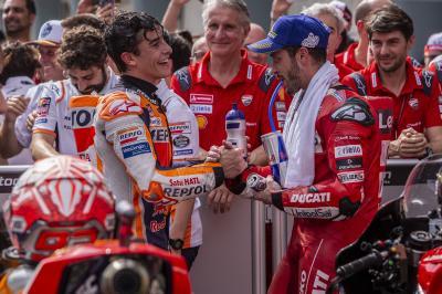 Ducati Team vs Repsol Honda: chi vincerà l'ultima corona?