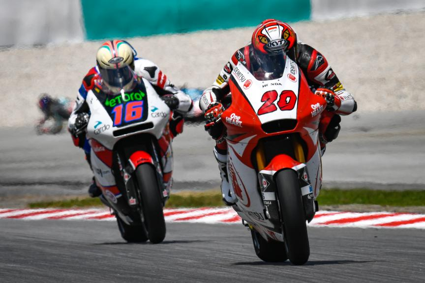Dimas Ekky Pratama, Idemitsu Honda Team Asia, Shell Malaysia Motorcycle Grand Prix
