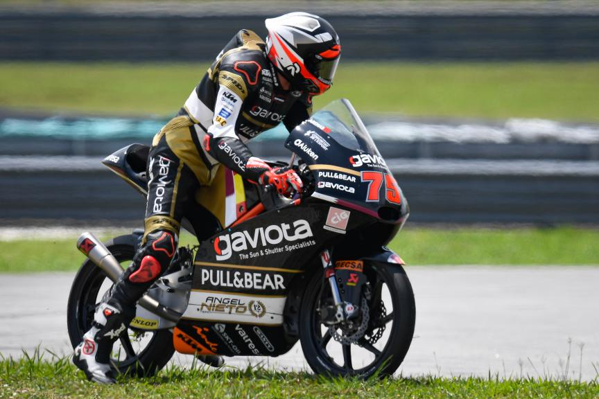 Albert Arenas, Gaviota Angel Nieto Team, Shell Malaysia Motorcycle Grand Prix