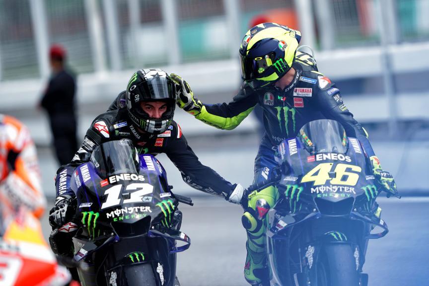 Maverick Viñales, Vantino Rossi, Monster Energy Yamaha MotoGP, Shell Malaysia Motorcycle Grand Prix