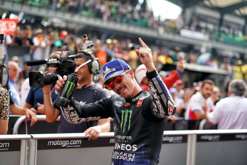 Maverick Viñales, Monster Energy Yamaha MotoGP, Shell Malaysia Motorcycle Grand Prix