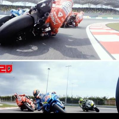 From 11th to 2nd in ONE LAP! Ride on board