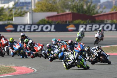 Valencia coronará al campeón de Moto3™ del FIM CEV Repsol