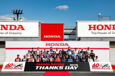 The class of Honda Racing Thanks Day 2019