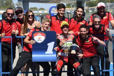Edgar Pons vuelve a Moto2™ con Gresini