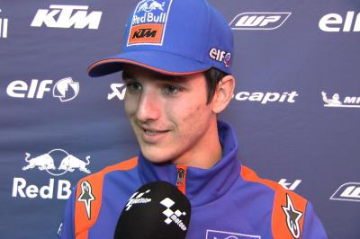 Lecuona excited to get an early debut with KTM Tech 3