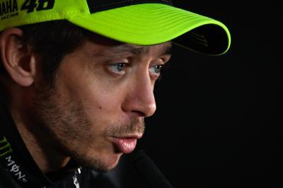Rossi encumbra a Lorenzo tras su adiós