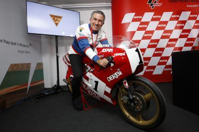 'Aspar' entra en el Olimpo de MotoGP™ Legends